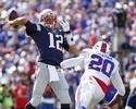 Com 466 jardas lançadas, Brady tem segunda melhor atuação da carreira