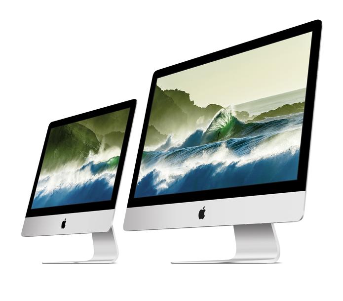 Novos iMac adotam tela Retina nos formatos de 21,5 e 27 polegadas (Foto: Divulgação/Apple)