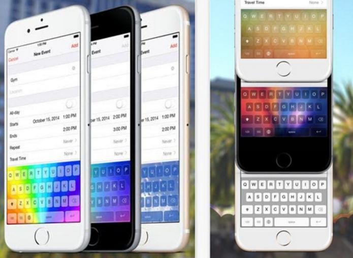 Rainbow Key oferece várias opções de personalização do teclado (Foto: Divulgação/Rainbow Key)