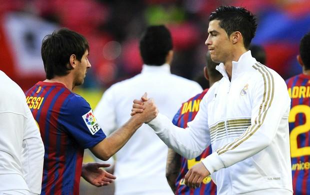 Cristiano Ronaldo Messi Real Madrid Barcelona (Foto: Getty Images)