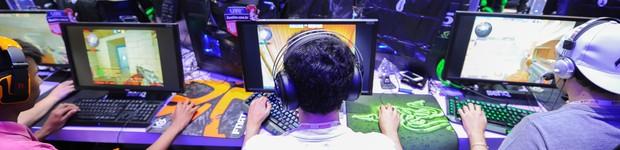 G1 faz balanço da BGS 2014; veja o que rolou na feira de games em São Paulo (G1 faz balanço da BGS 2014; veja o que rolou na feira de games em São Paulo (G1 faz balanço da BGS 2014; veja o  que rolou de bom e de ruim na feira (Flavio Moraes/G1)))