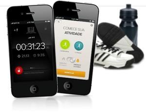 Aplicativo do Eu Atleta para Iphone (Foto: Arte / Globoesporte.com)