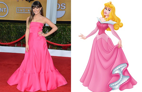 Lea Michele como Aurora (Foto: Getty Images)
