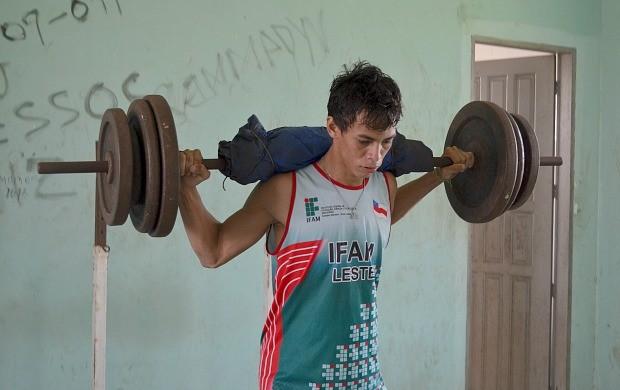 Franklin, Atletismo Amazonas (Foto: Anderson Silva/Globoesporte.com)