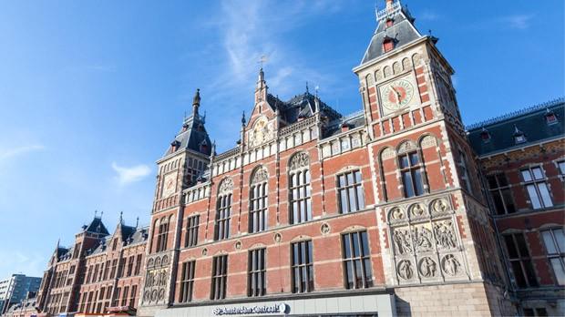 Estao Central de Amsterd (Foto: Divulgao)