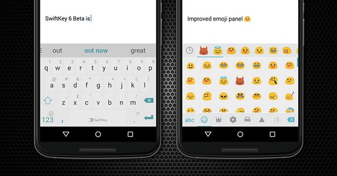 Emojis estão em novo painel mais organizado (Foto: Divulgação)
