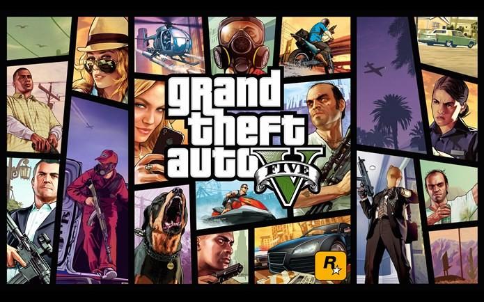 Veja a evolução da famosa série de games, GTA (Foto: Divulgação)