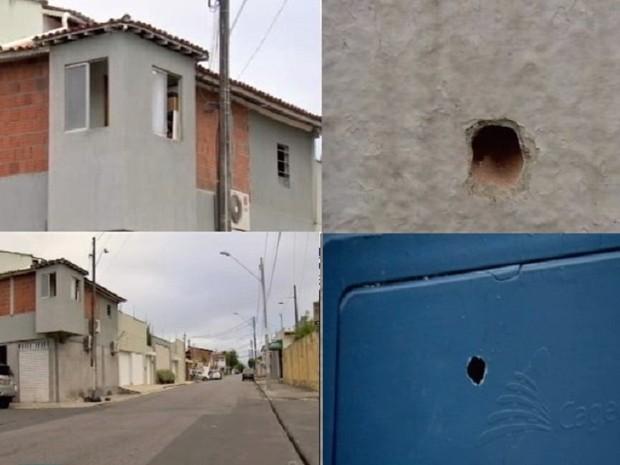Polícia investiga assalto próximo à casa da família de Wesley Safadão (Foto: Reprodução/TV Verdes Mares)