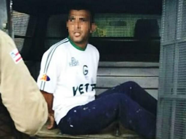 Suspeito de roubo, tráfico e homicídio morava na Bahia utilizando a identidade do irmão (Foto: Ronildo Brito/Teixeira News)