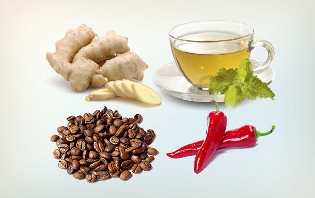 eu atleta alimentos termogênicos (Foto: Editoria de Arte / EUATLETA.COM)