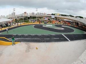 Praça Multiuso também foi inaugurada neste sábado (Foto: Manu Dias/GOVBA)