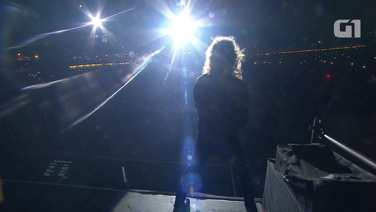 Renovado, Metallica comanda 'mar' de camisas pretas em SP
