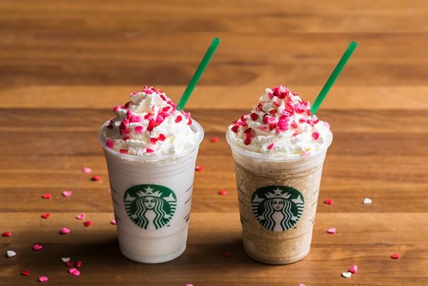 Frappuccinos de beijinho e doce de leite do Starbucks (Foto: Divulgação)