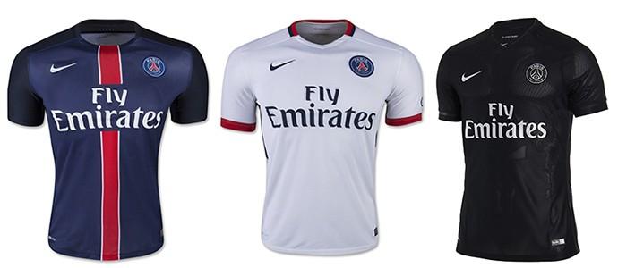 Camisas Champions PSG
