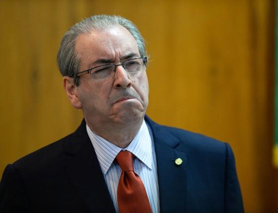 Eduardo Cunha,ex-deputado (Foto:  ANDRESSA ANHOLETE/AFP)