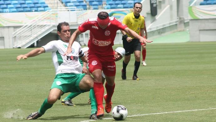 Leandro Saraiva árbitro (Foto: Canindé Pereira/Divulgação)