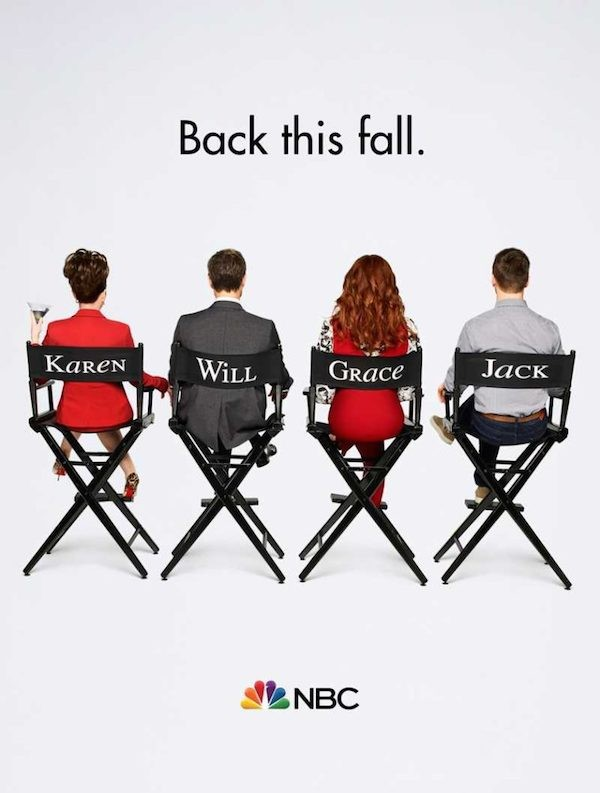 O pôster da próxima temporada de Will & Grace (Foto: Divulgação)