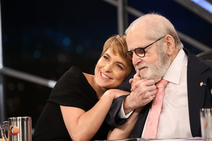 Cláudia Abreu é um amorzinho (Foto: Carol Caminha/Gshow)