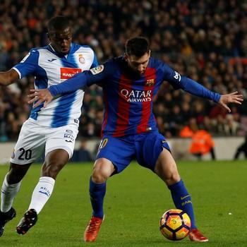 Messi Barcelona x Espanyol (Foto: Reuters)