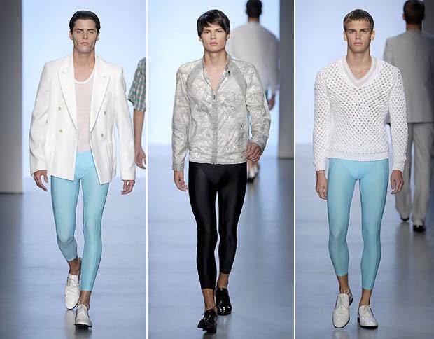 A grife Calvin Klein também antecipou a moda nas passarelas de 2007 (Foto: Getty Images)