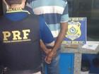 PRF prende homem com mandado de prisão em fiscalização na BR-135