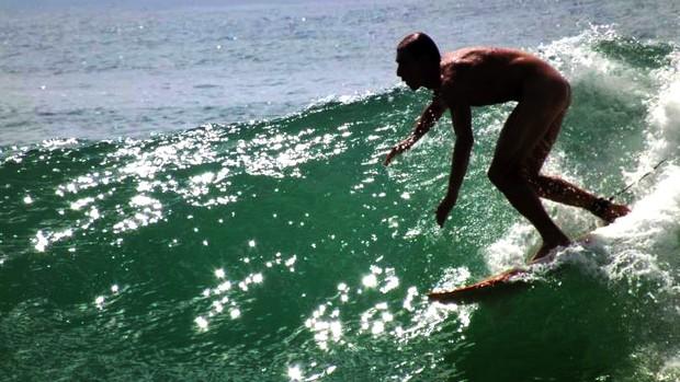 Santa Catarina vai ter campeonato de surfe naturista neste fds (Foto: Divulgação / Marco Antônio Struve)