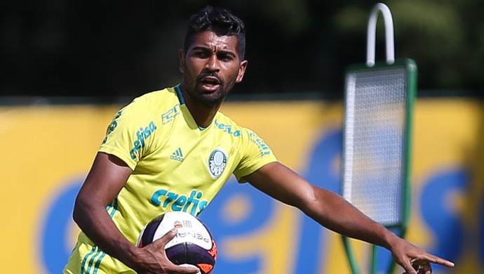 Thiago Santos Palmeiras (Foto: Fabio Menotti/Ag. Palmeiras/Divulgação)