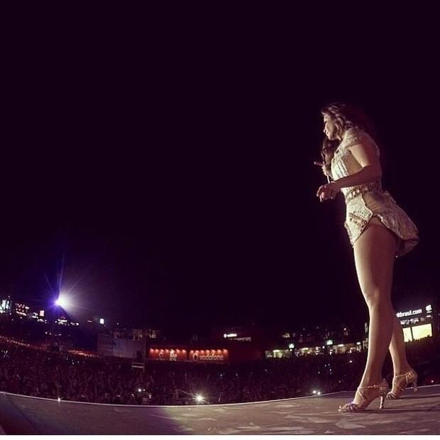 Ivete Sangalo no Rock in Rio Lisboa (Foto: Instagram)