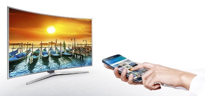 Smart View roda no Tizen para colocar conteúdo do celular na TV (Foto: Divulgação/Samsung)