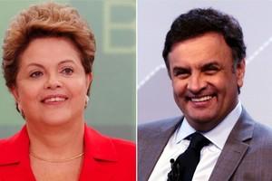 Dilma Rousseff e Aécio Neves (Foto: Montagem Blog do Noblat)