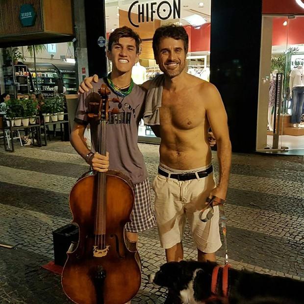 Abner Tofanelli e Eriberto Leão (Foto: Reprodução / Facebook)