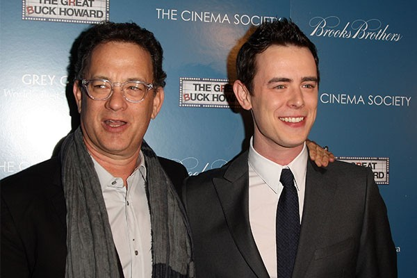 Tom Hanks e Colin Hanks (Foto: Getty Images)