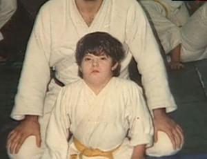 Breno Viola, primeiro faixa preta de judô das Américas com síndrome de down (Foto: Reprodução SporTV)