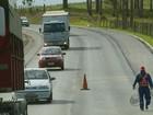 Motoristas reclamam de demora e segurança em obras na BR-459