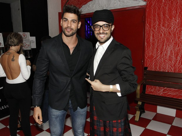 Rodrigo Portuga  e Alisson Gomel (Foto: Celso Tavares / EGO)