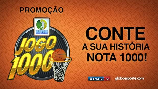 Jogo 1000 NBB promoção (Foto: GLOBOESPORTE.COM)