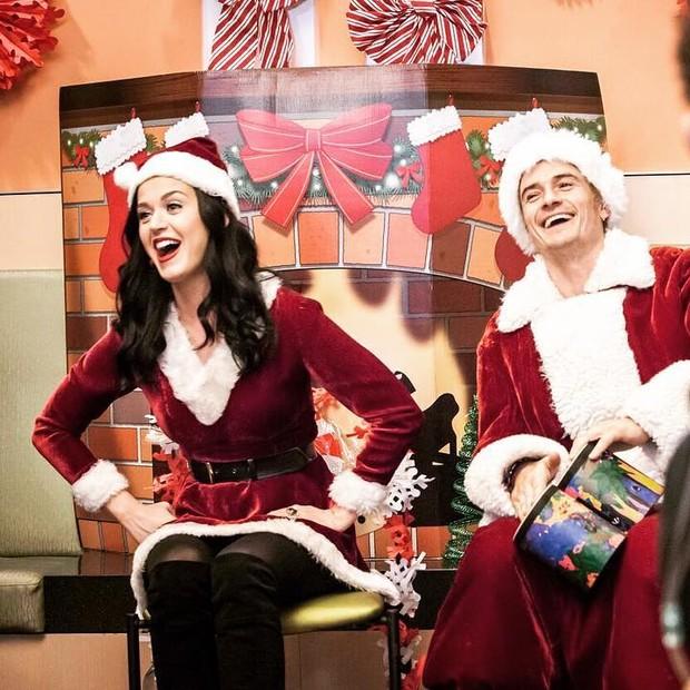 Katy Perry e Orlando Bloom (Foto: Instagram/Reprodução)