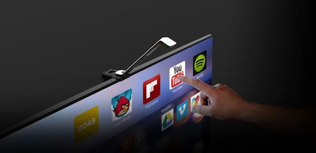 O WAVE, gadget que promete transformar qualquer TV em um tablet gigante (Foto: Divulgação)