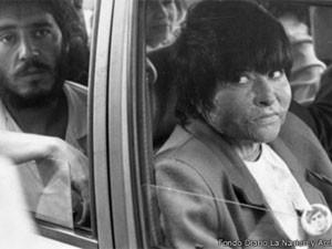 Carmen Glória Quintana sobreviveu após ter o corpo queimado  (Foto: Divulgação/ Fondo Diario La Nacion y Archivo Museo de la Memoria)