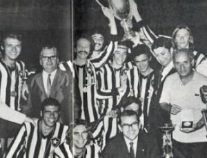 Botafogo campeão brasileiro em 1971 vôlei  (Foto: BFR)