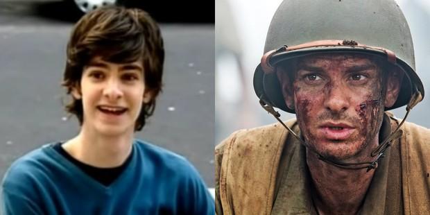 """Andrew Garfield em """"Sugar Rush"""" e """"Até o Último Homem"""" (Foto: Reprodução/ YouTube   Divulgação/ IMDB)"""