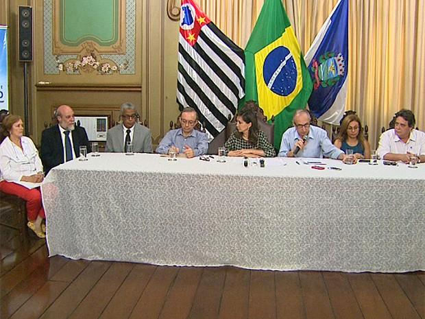 Comissão gestora é formada por secretários de Assistência Social, Saúde, Administração, Fazenda, Governo, Infraestrutura e Planejamento (Foto: Ronaldo Gomes/EPTV)