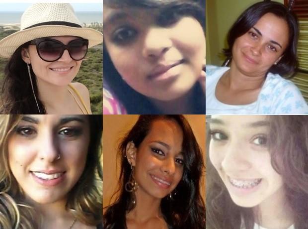 Vítimas de homicídio em Goiânia, Goiás (Foto: Montagem/G1)