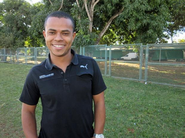 Ismael Batista, ex-menino de rua que se tornou técnico no STF (Foto: Isabella Formiga/G1)