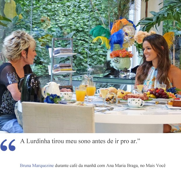 frase 1 bruna (Foto: Vídeo Show/TV Globo)