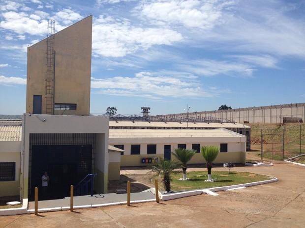 Penitenciária de Presidente Venceslau é a primeira do Estado a receber os bloqueadores (Foto: Pedro Mathias/G1)