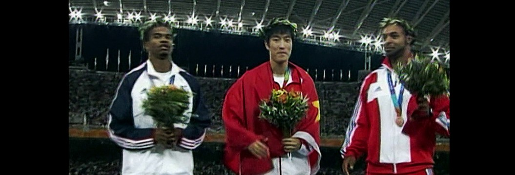 Em Atenas 2004, Liu Xiang foi o primeiro chinês a conquistar uma medalha de ouro no atletismo