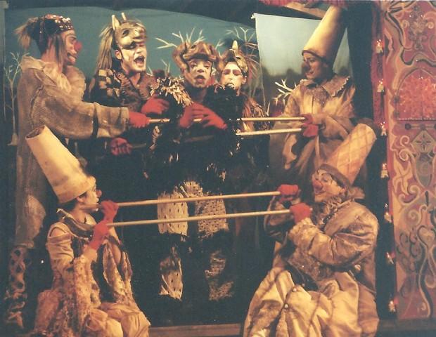 A peça foi a primeira incursão de VIllela no teatro infantil (Foto: Divulgação/ Paola Britto)