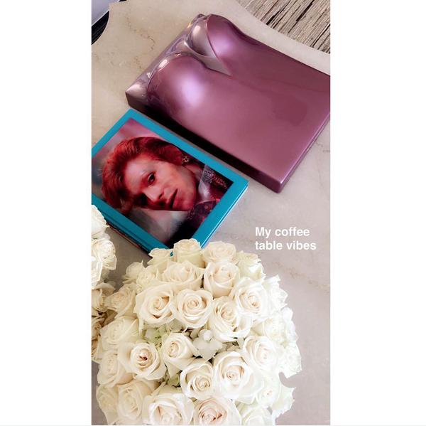 Um detalhe da mansão de Kylie Jenner (Foto: Snapchat)