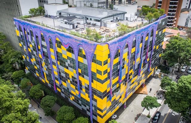 O resultado final da Instalação (Foto: Gabriel Sousa)